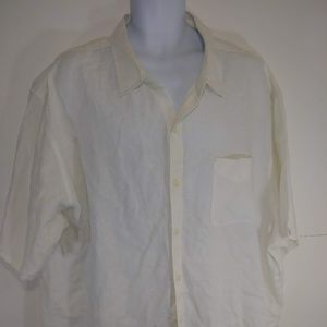 Tommy Bahama Linen Camp Shirt 3XB